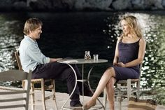 Still of Ethan Hawke and Julie Delpy in Before Midnight We meet Jesse and Celine nine years on in Greece. Almost two decades have passed since their first meeting on that train bound for Vienna. Julie Delpy, Before Midnight, Before Sunrise, Movies To Watch, Good Movies, Celine, Before Trilogy, O Enigma, Top 10 Films