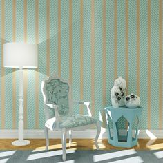 (37.13$)  Watch here  - Modern 3D Wallpaper green Stripe Wall Paper Papel de Parede damask Wall Paper for Bedroom living Room TV Sofa Background sticker