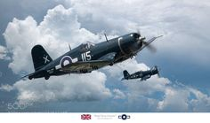 I Like Props — mike13mt: Royal Navy Corsairs by jsp1