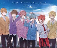 #すとぷりギャラリー - Twitter検索 / Twitter Karma Y Nagisa, Ayato, Vocaloid, Aesthetic Anime, Anime Guys, My Idol, Cool Art, Anime Art, Fan Art