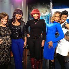 Hanging with the Braxtons! Trina Braxton, Traci Braxton, Towanda Braxton #braxtonfamilyvalues