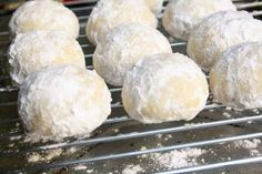 Snowball Cookies – Easy Recipes