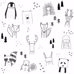 Animal doodles