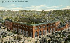 League Park - Cleveland, OH.This is where the Indians played even before Municipal stadium and Progressive Field...