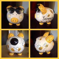 Bee-lieve piggy bank