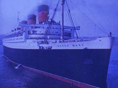 The Haunted Queen Mary Ship used to be a celebrated luxury ocean liner. Now strange noises, knocking and banging on the liner's pipes, and cries can be heard. Entire story : http://paranormal.about.com/od/hauntedplaces/ig/World-s-Most-Haunted-Place/The-Queen-Mary.htm