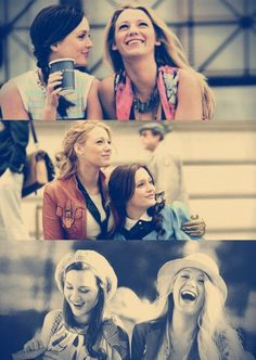 and right now, I am exactly who I wanna be with. My Best Friend #BlairAndSerena #Bffs #BestFriends #Xoxo #gossipGirl #GG
