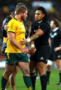James Slipper | Ma'a Nonu |  New Zealand v Australia | The Rugby Championship | Bledisloe Cup 2014