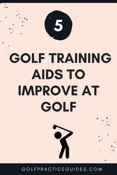 Golf training aids and tech gadgets like golf gps watches, rangefinders, and other training aids can help you improve your swing, chipping, putting, etc. when using them during practice. Learn more our top 5 picks for golf tech aids to assist your play. #golf #golftips #golfdrills #golfballs #golfcourse