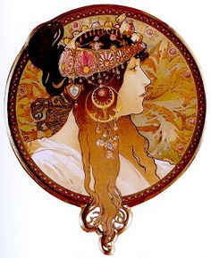 Standing In Fire: My Influences: Alphonse Mucha