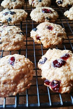 These chewy oatmeal cookies are packed full of sweet dried berries-- and they make a lovely, light dessert.