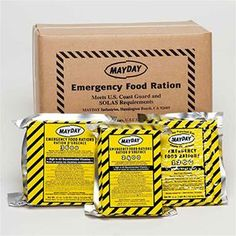 Disaster, Survival Preperation, Emergency Food & Water, 3600 Calories Mayday Food Bar, FB36M - FirstAidStore.com