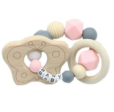 8236a3c54912 Custom Wood Teether Toy Wooden Age Play ABDL CGL | DDLG Playground Cute  Little Baby Girl