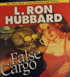 L.Ron Hubbard False Cargo Audiobook Factory Sealed Read By Enn Reitel + More