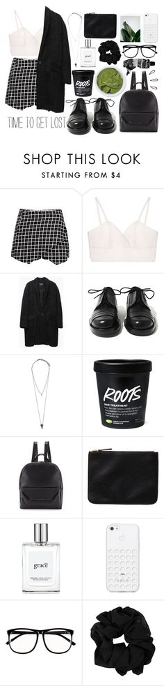 """Sans titre #100"" by rachel69-24 ❤ liked on Polyvore featuring Isabel Marant, Achilles Ion Gabriel, Pieces, Christian Lacroix, Monki, philosophy, Black Apple, H&M, Aesop and Old Navy"