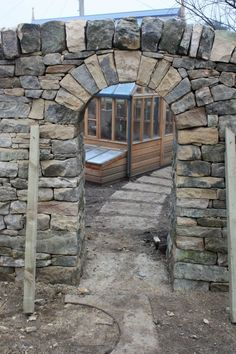 Stone arch, fabulous for the garden