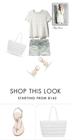 """""""Denim Love"""" by anne-977 ❤ liked on Polyvore featuring Abercrombie & Fitch, Rachel Zoe, Giuseppe Zanotti, BUCO and Victoria's Secret"""