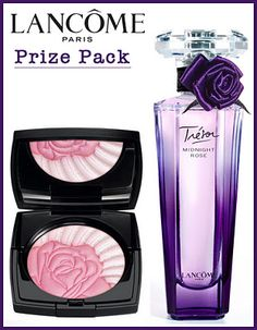 WIN The Limited Edition La Roseraie Blush & Trésor Midnight Rose Fragrance by Lancome! Open to CAN ends Lancome Paris, Fragrance, Blush, Beauty, Blushes, Blush Dupes