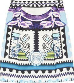 Mary Katrantzou Crepe Skirt. Image via Net-A-Porter.