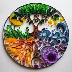 Quilled Goddess Mandala                                                                                                                                                      More