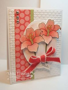 .Want to make cards like this and swap them with other people across the United States? Then come join my group at:http://groups.yahoo.com/group/heartfeltcreationscardswap