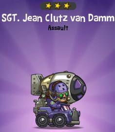 Sgt. Jean Clutz van Damm- http://puzzletrooper.com/