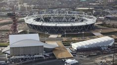 London 2012 Olympic park. We toured the venue..It's going to be a great Olympics is all I can say!