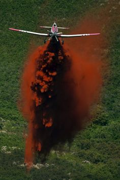 Crews work to put out the Quail fire above Alpine, Utah, on Tuesday July 3, 2012. (Chris Detrick     The Salt Lake Tribune)