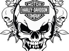 Picture Outcome for Harley-Davidson Stencil Patterns Free Printable Sample Stencil Harley Davidson Decals, Harley Davidson Images, Harley Davidson Tattoos, Classic Harley Davidson, Harley Davidson Street Glide, Harley Davidson Motorcycles, Bike Photo, Biker T Shirts, Stencil Patterns