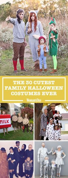 30 of the Cutest Family Halloween Costumes Ever