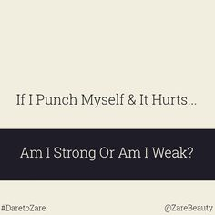 """Deep! #quote #strong #weak #beauty #skin #skincare #healthy #natural #nomakeup #photooftheday #nomakeupselfie #eyes #smile #pretty #DareToZare #daretobare #nofilter #selfie #hair #teamnatural #love #beautiful #girl #amazing"" Photo taken by @zarebeauty on Instagram, pinned via the InstaPin iOS App! http://www.instapinapp.com (04/14/2015)"