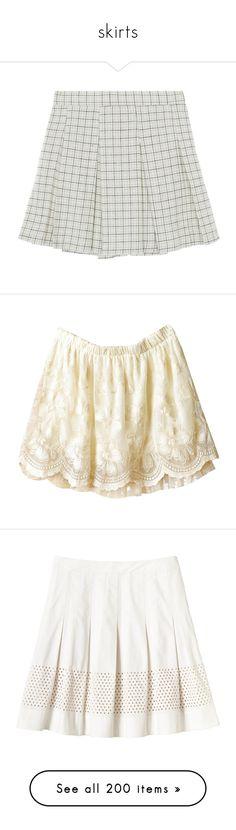 """skirts"" by sinyukovayulya ❤ liked on Polyvore featuring skirts, mini skirts, bottoms, clothing - skirts, high-waisted skirts, pleated miniskirt, high waist skirt, patterned mini skirt, short mini skirts and shorts"