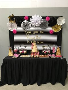51 Trendy Birthday Surprise For Mom Decoration Baby Shower Birthday Surprise For Mom, 50th Birthday Party, 16th Birthday, Girl Birthday, Birthday Ideas, Kate Spade Party, Bridal Shower Kate Spade, Party Decoration, Birthday Decorations