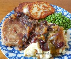 These Crock Pot Pineapple Cranberry Chops are so good. My family loves this recipe. The pork chops come out tender and the gravy is wonderful.