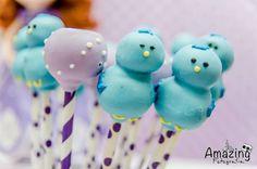 Cute Cake Pops from this Sofia the First Themed Birthday Party with So Many Cute Ideas via Kara's Party Ideas | KarasPartyIdeas.com #princessparty #sofiathefirstpart...