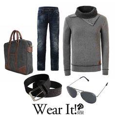 ¡Qué mejor manera de sobrellevar este frío siberiano que tener un Jersey de Punto a mano! Hazte con el tuyo en Rebajas y consigue un 30% de #Descuento. Wear It! ❄ www.alphanoir.es ❄  #outfitoftheday #ootd #fashion #instafashion #lookoftheday #fashionista #style #lookbook #picoftheday #look #photooftheday #instastyle #outfitpost #instadaily #jeans #instagood #fashiongram #mystyle #instalook #fashiondiaries #clothes #currentlywearing #mensfashion #denim #shopping #inspiration #followme