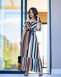 cute date outfits Indian Designer Outfits, Indian Outfits, Designer Dresses, African Fashion Dresses, African Dress, Blue Skirt Outfits, Mode Kimono, Girl Fashion, Fashion Outfits