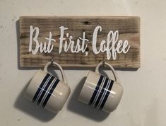 Handcrafted Home Decor and Gift Items by DecorNGiftShop Man Cave Crafts, Mug Rack, But First Coffee, Home Decor Items, Coffee Mugs, Etsy Seller, Place Card Holders, Unique Jewelry, Tableware