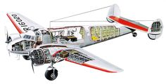 Lockheed Electra Cutaway