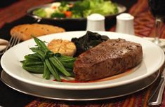 Low-cal entrees from Outback Steakhouse