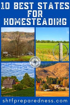 When choosing the best states for homesteading, consider factors like climate, homeschooling laws, & free land options. Explore our top state recommendations and decide for yourself! Homestead Property, Homestead Living, Cheap Land, Underground Greenhouse, Backyard Farmer, Best Money Saving Tips, Urban Homesteading, Grow Your Own Food