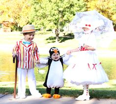 Turn your little ones into the cast of Mary Poppins.