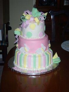Bunny Cake By buckygirl on CakeCentral.com