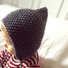 Pixie hat, pixie hat, leprechaun hat, pixie hat … I do not know how to … Baby Knitting Patterns, Knitting For Kids, Knitting Yarn, Crochet Patterns, Free Knitting, Hat Patterns, Crochet Baby Bonnet, Crochet Poncho, Crochet Hats