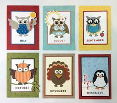 Hi friends! As promised, here is part two of my Owl Punch Fridge Magnets post, months July - December. To see part one of this post an...
