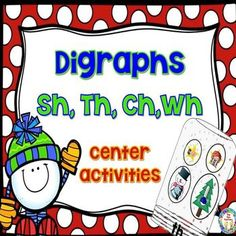 Phonics/Beginning Digraphs:These activities/games are great to use as a small group lesson for practicing digraphs or independent practice used within a word work/abc center.This digraph packet includes  activities/games, and a fun, interactive practice page for the digraphs sh, th, wh, and ch, as well as, a colorful classroom poster.