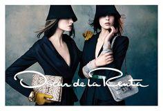 oscar de la renta fw4 Oscar de la Renta Gets Glam for Fall 2013 Campaign by Norman Jean Roy