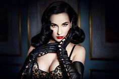 Dita Von Teese lunched her Bloomingdale's Lingerie Collection http://amsterdam-ftv-blog.com/archives/25516