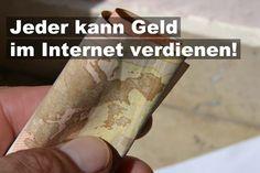 Geld verdienen im Internet, Euroscheine