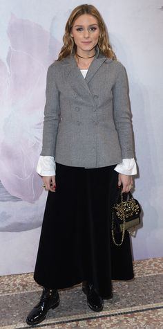 Every Look Olivia Palermo Wore Through Paris Fashion Week - March 4, 2017 from InStyle.com